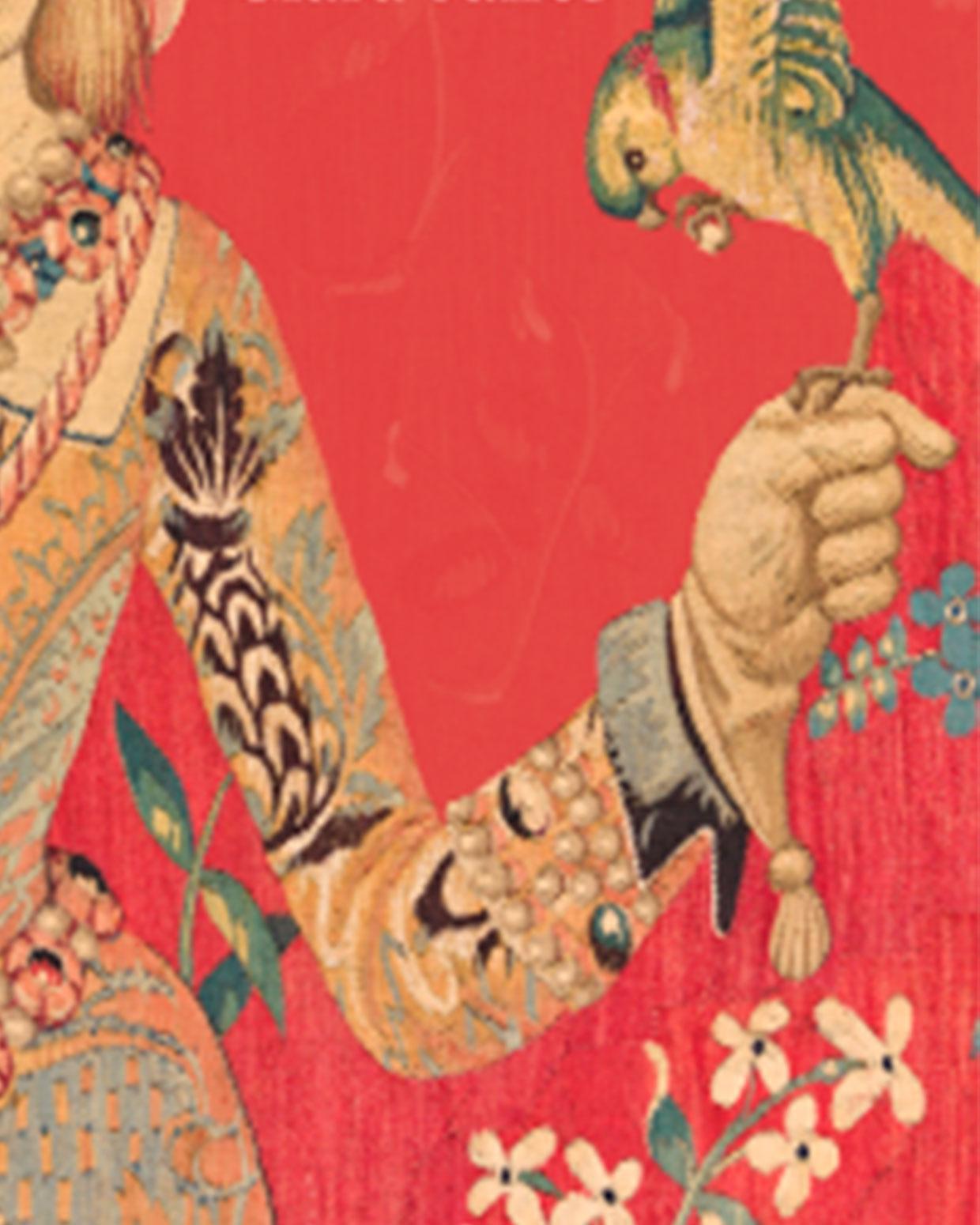 Detalle de la portada de Las primeras poetisas de la lengua castellana.
