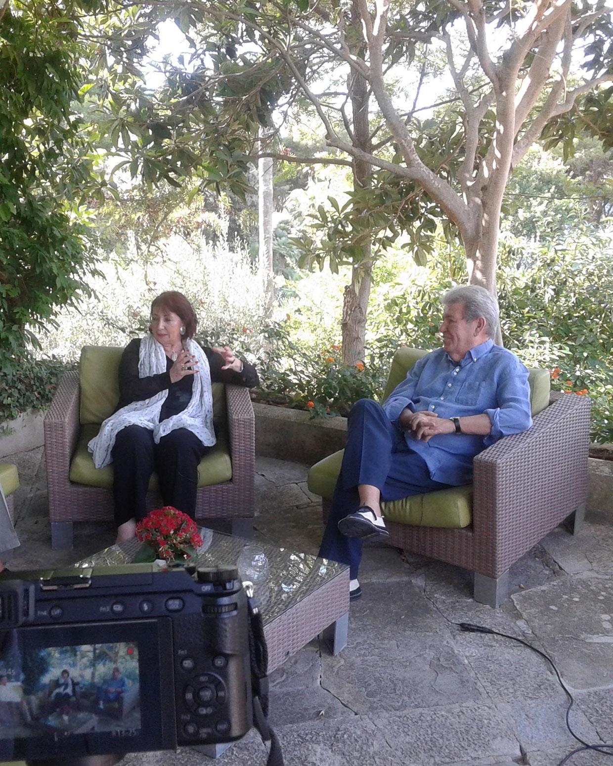 Marisol Schulz y Jorge Herralde.