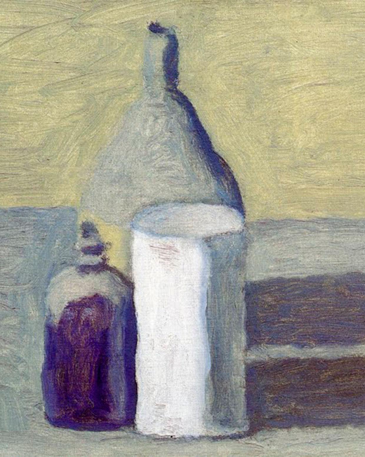 Obra de Giorgio Morandi.