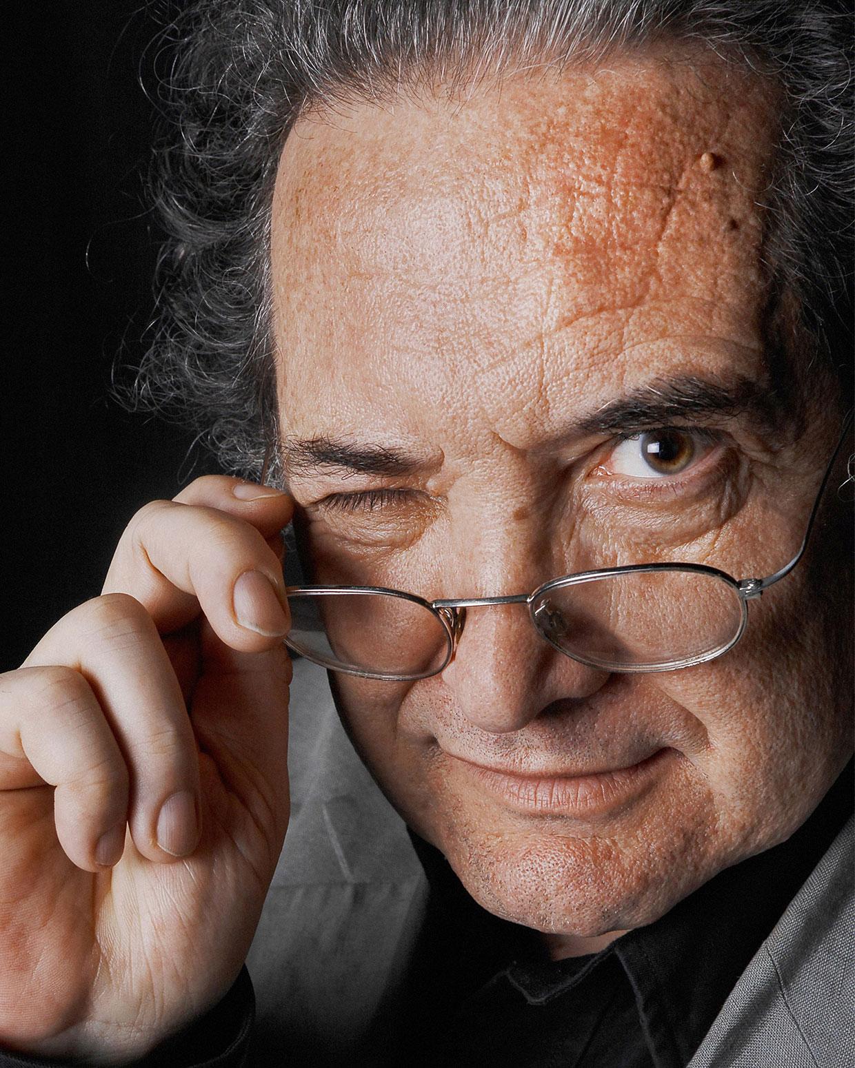 Ricardo Piglia. /FOTOGRAFÍA DE DANIEL MORDZINSKI
