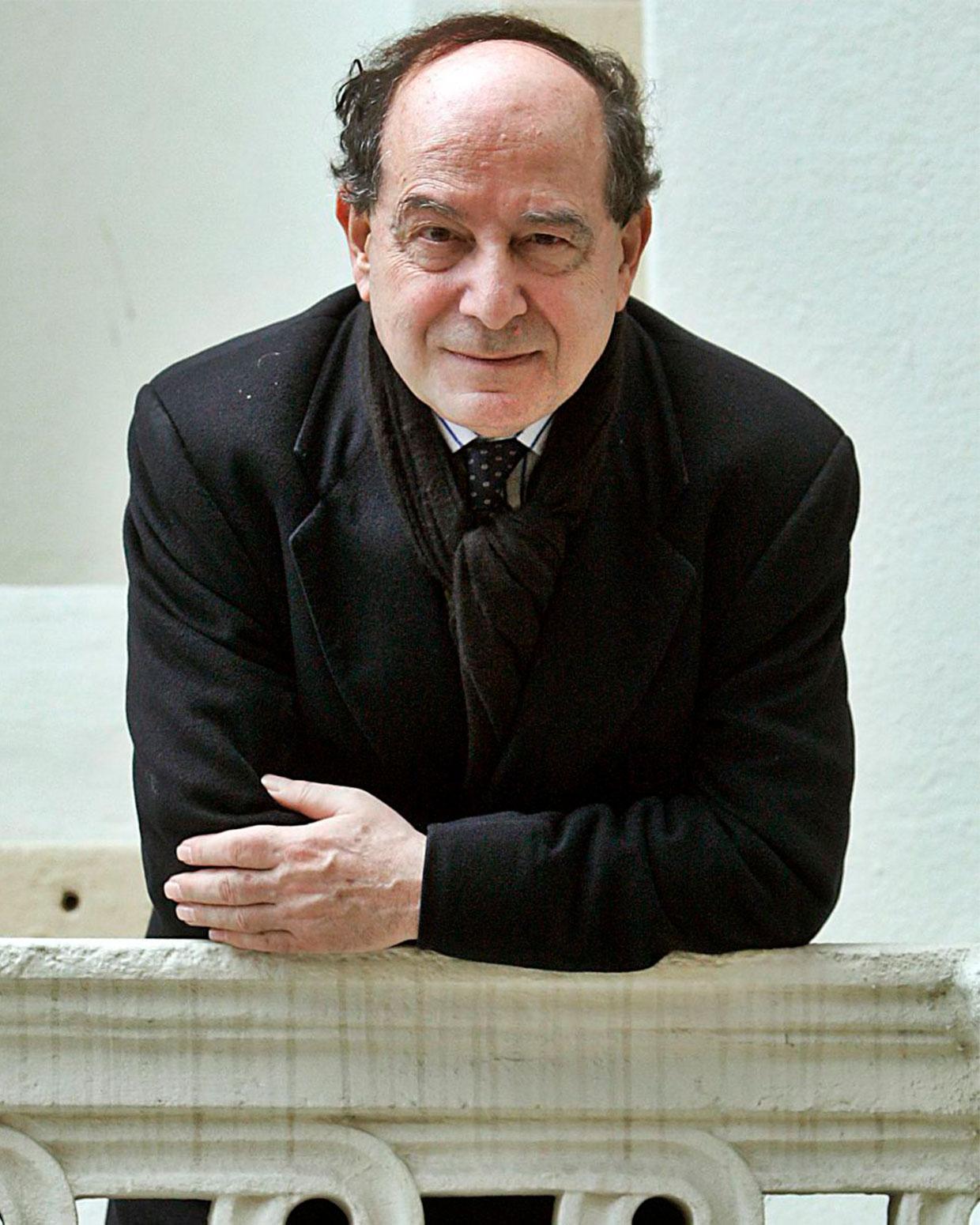 El autor italiano Roberto Calasso. / FOTOGRAFÍA DE A. ESTÉVEZ