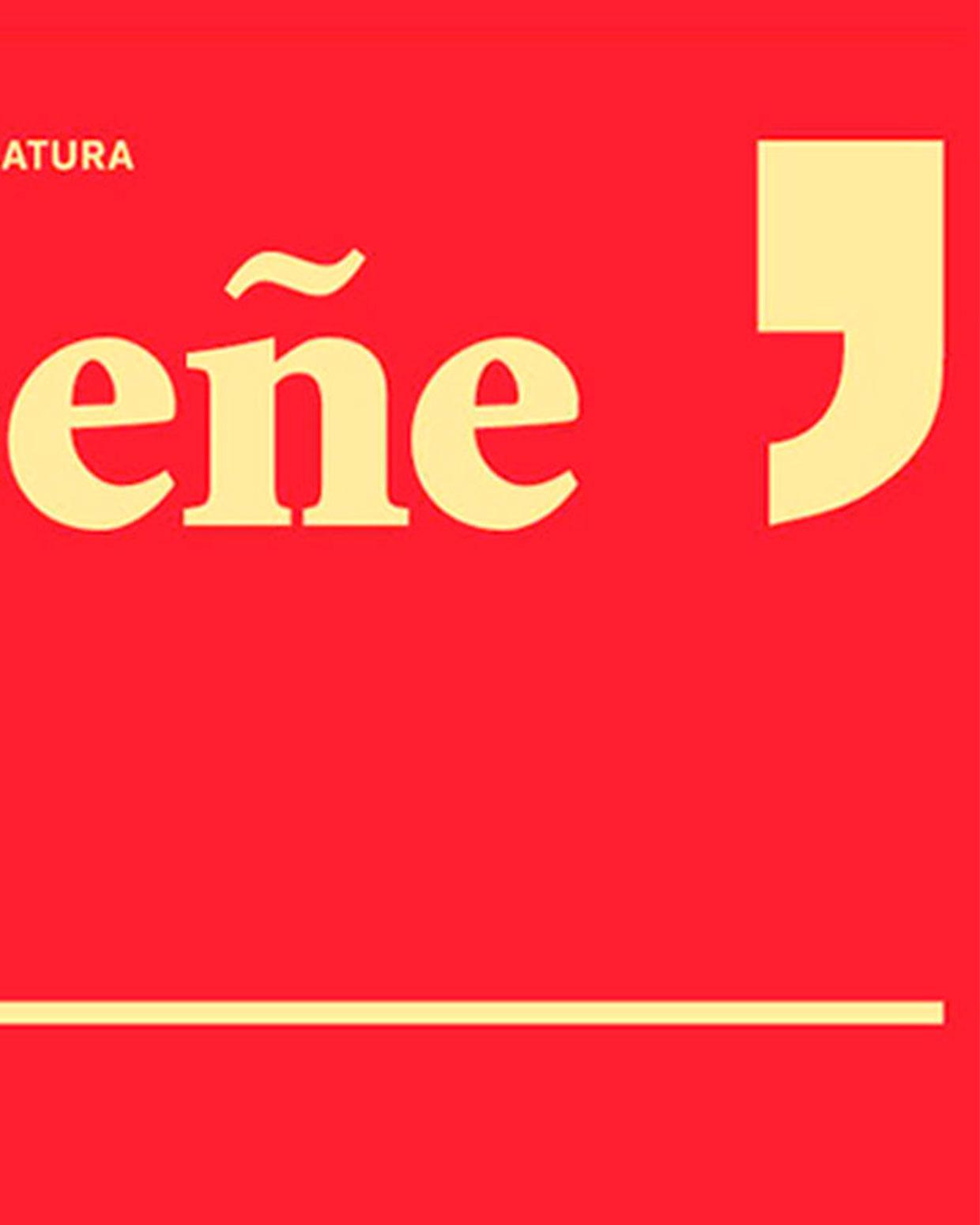 Detalle del cartel del Festival Eñe, de Madrid en 2016.