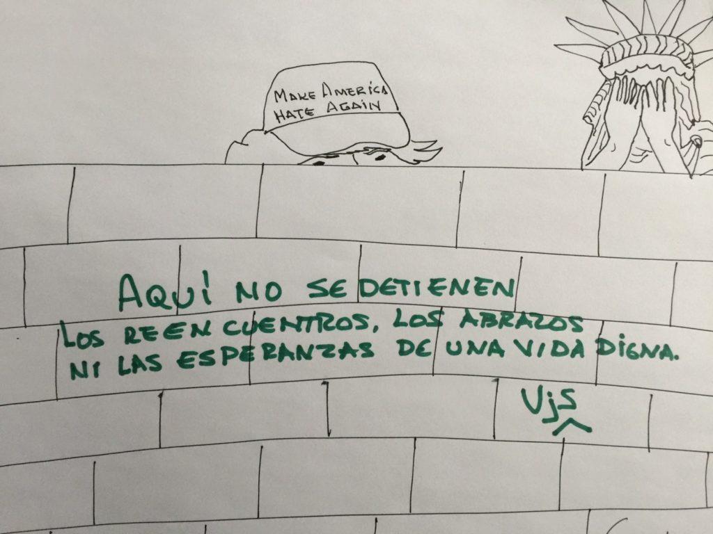 Grafiti de Víctor Javier Solano