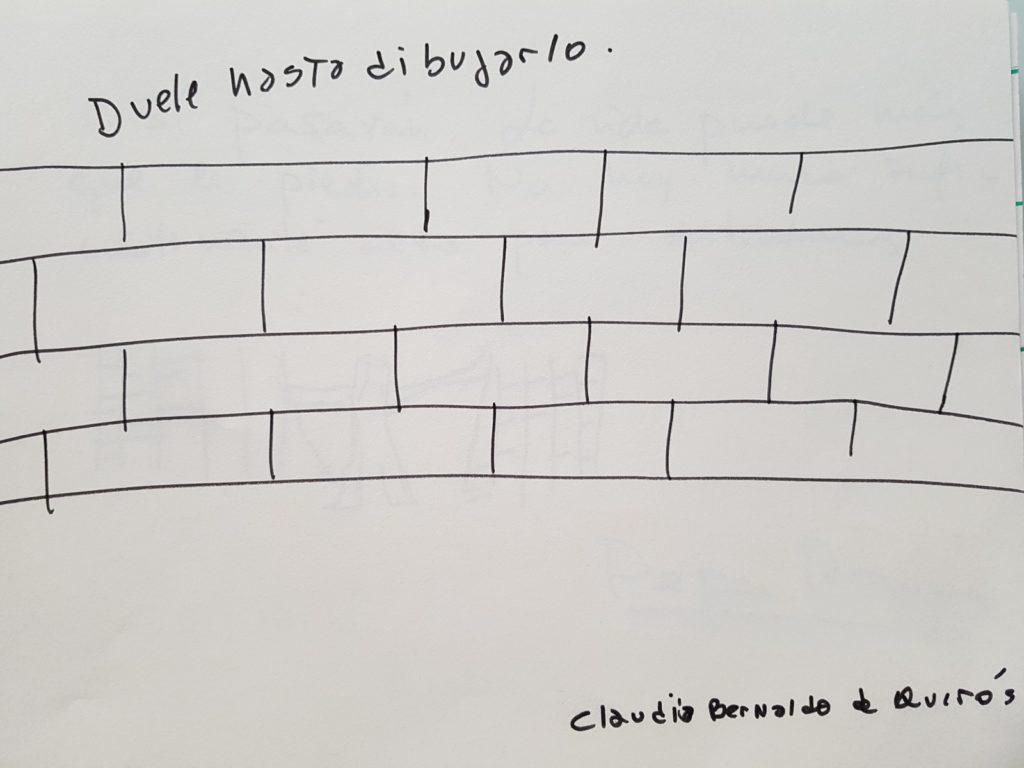 Grafiti de Claudia Bernaldo de Quirós