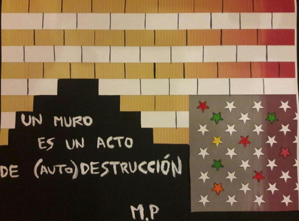 Grafiti de Marina Perezagua