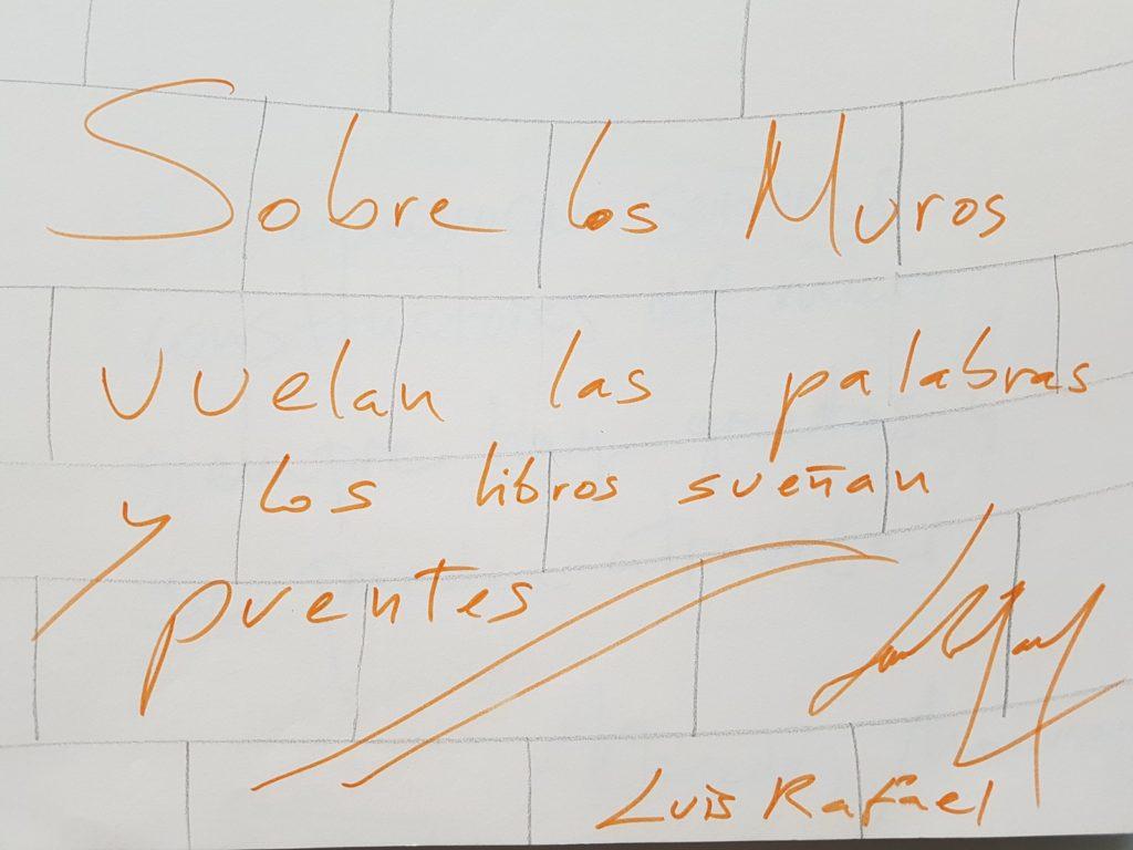 Grafiti de Luis Rafael