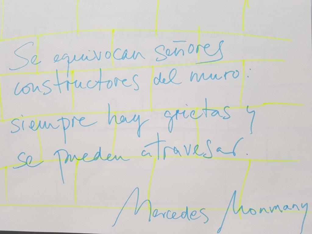 Grafiti de Mercedes Monmany