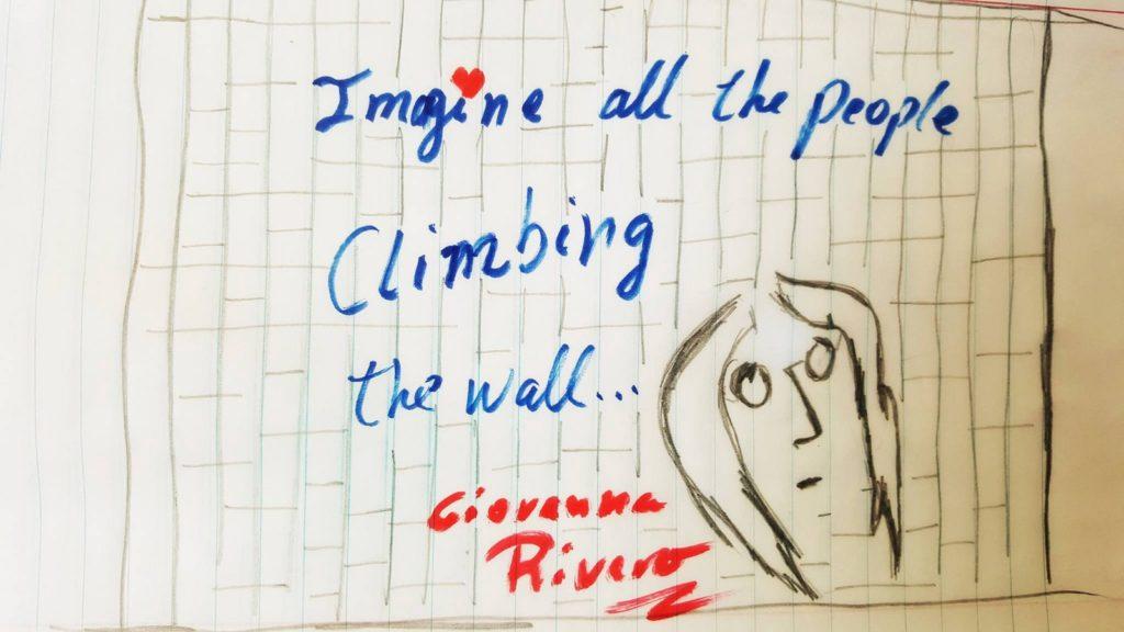 Grafiti de Giovanna Rivero