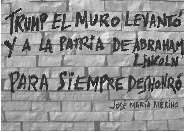 Grafiti de José María Merino