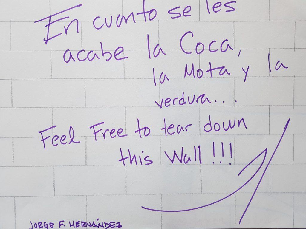 Grafiti de Jorge F. Hernández