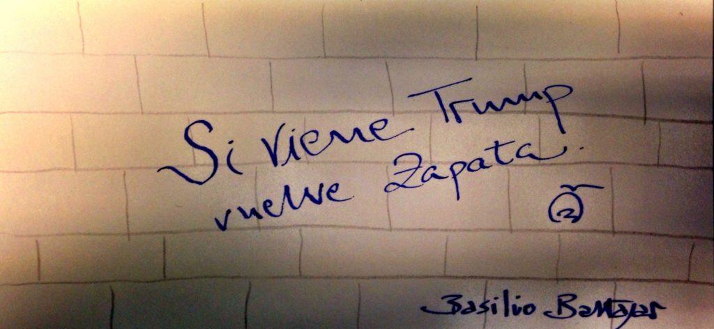 Grafiti de Basilio Baltasa