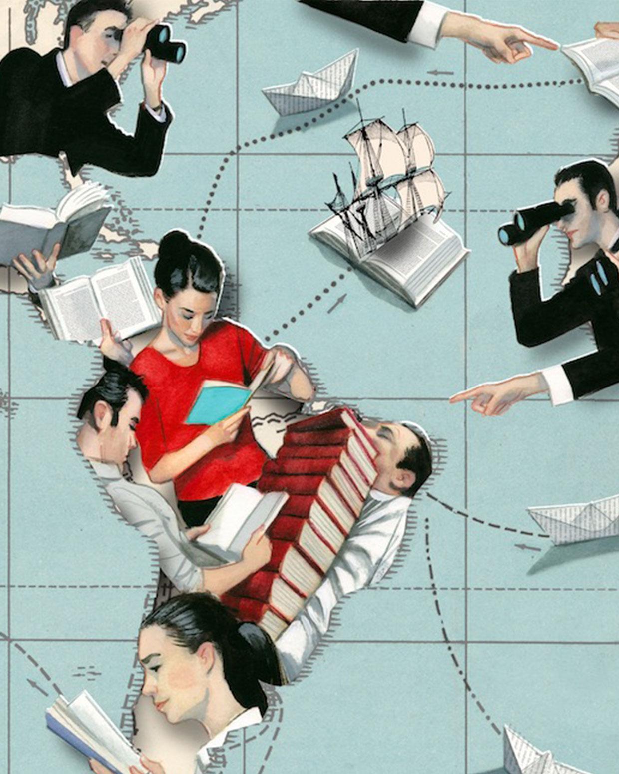 Ilustracion de Fernando Vicente.