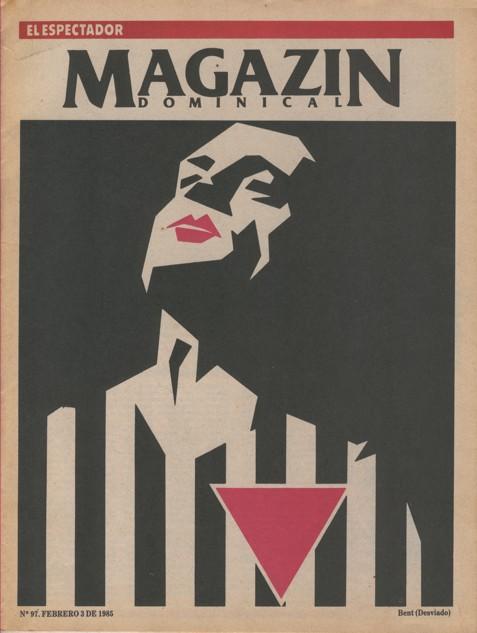Una portada del Magazín Dominical, de El Espectador.