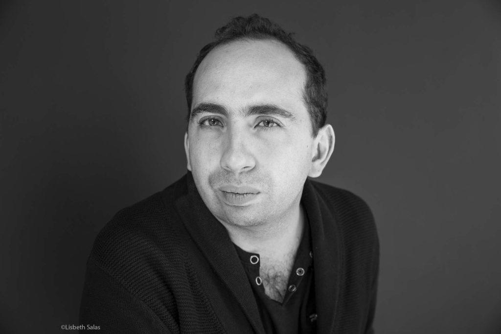 Giuseppe Caputo, escritor de Colombia. /Fotografía de Lisbeth Salas