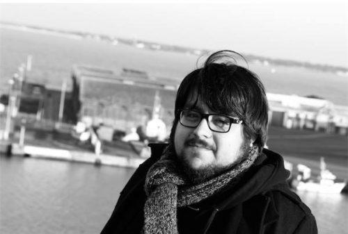 Diego Zúñiga, escritor chileno. /Fotografía de Lisbeth Salas