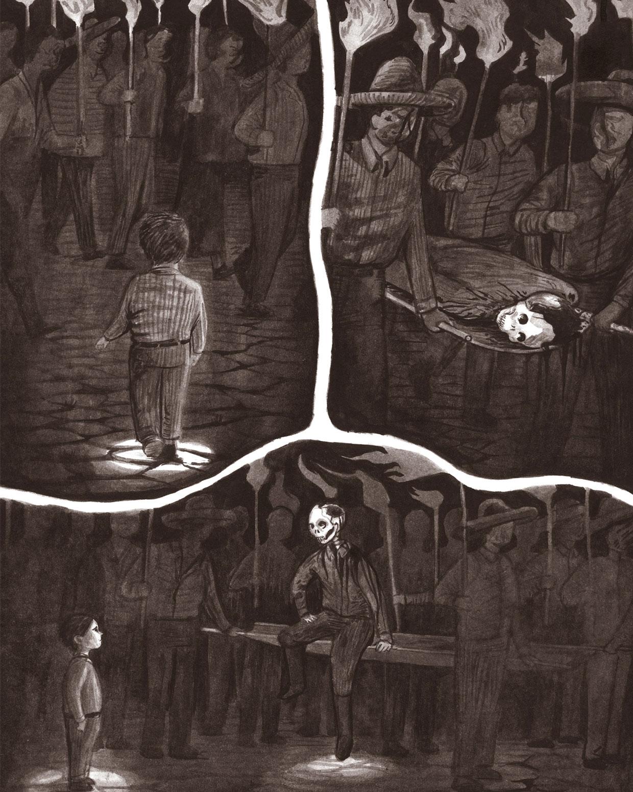 Juan Rulfo de niño en Una vida gráfiica, de Óscar Pantoja, editado por Rey Naranjo.