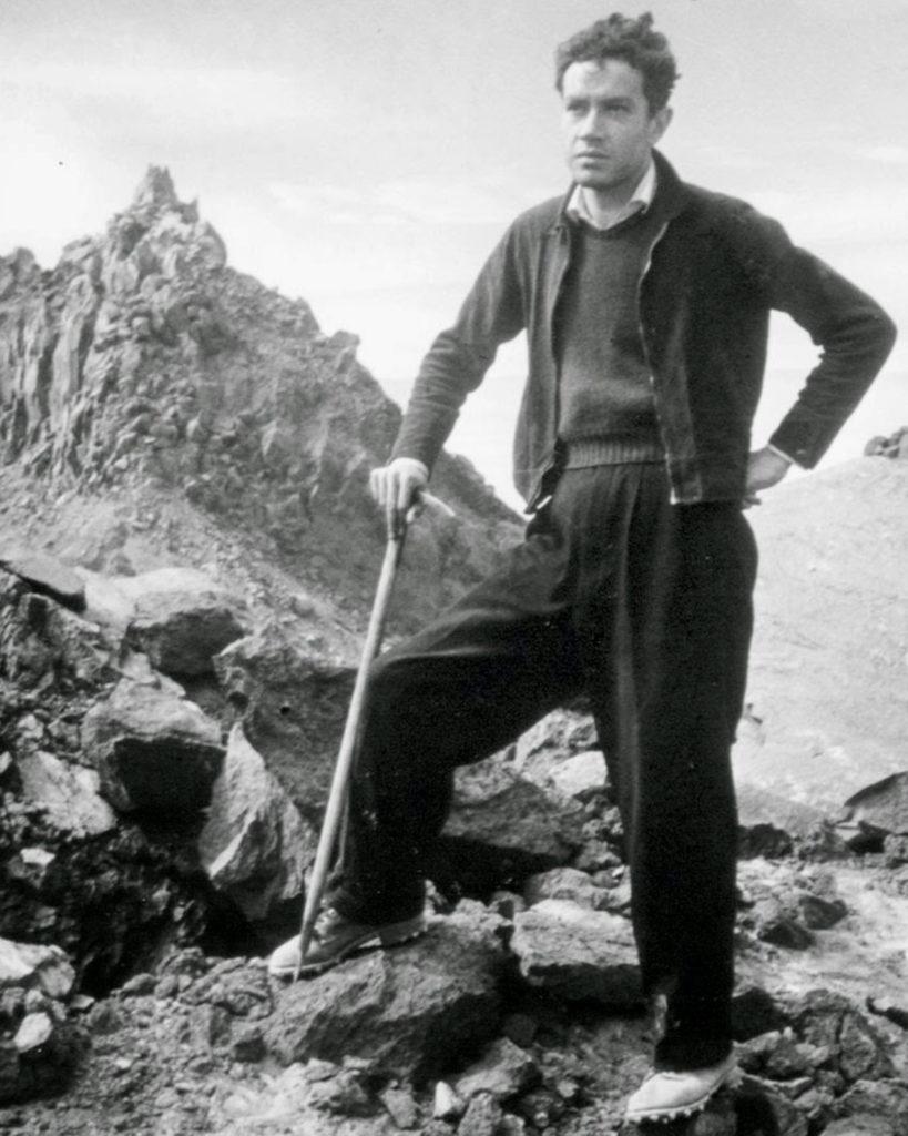 Juan Rulfo en los años 40. / Fotografía tomada de libro Rulfo 100 Fotografías