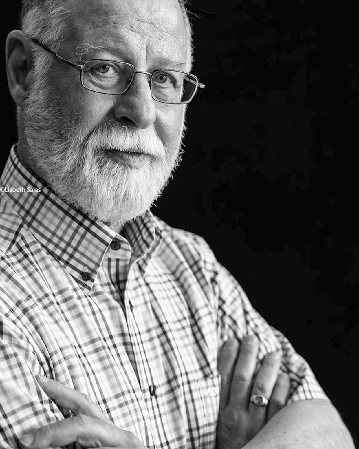 El escritor argentino Alberto Manguel. /Fotografía de Lisbeth Salas