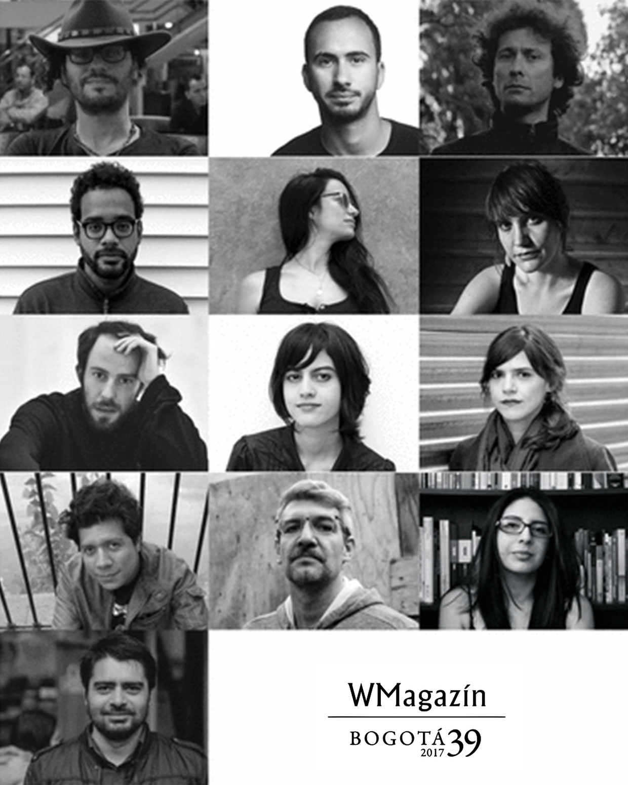 Trece escritores de Bogotá39-2017. / GIF de Luis Manrique Rivas