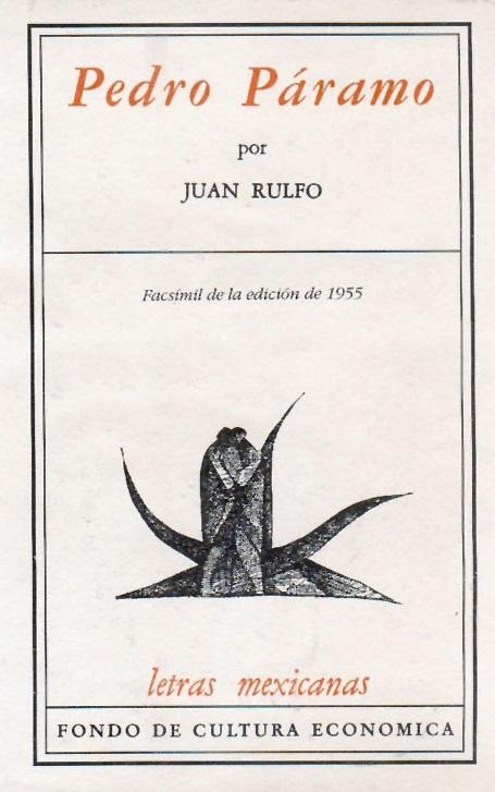 Primera edición de 'Pedro Páramo', de Juan Rulfo, de 1955.