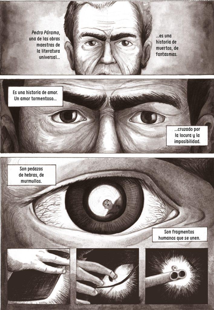 Ilustración de 'Juan Rulfo. Una vida gráfica' (Rey Naranjo)
