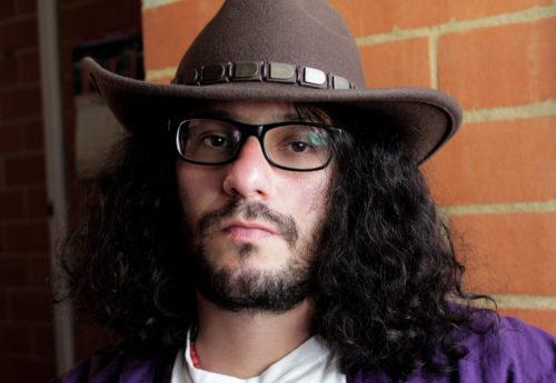 Daniel Ferreira, es escritor colombiano. /Fotografía de Tania Ruiz