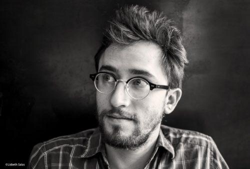 Daniel Saldaña, escritor mexicano. /Fotografía de Lisbeth Salas