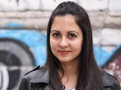 Liliana Colanzi, escritora de Bolivia. / Josefina Nicolini