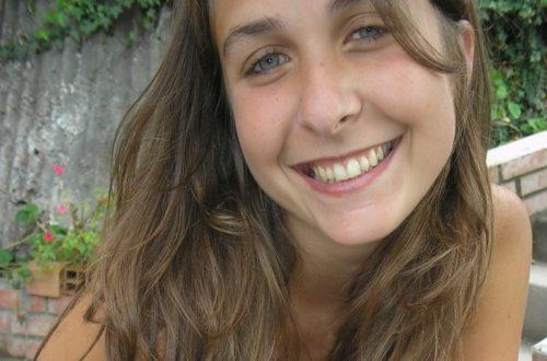 Luciana Sousa, escritora argentina.