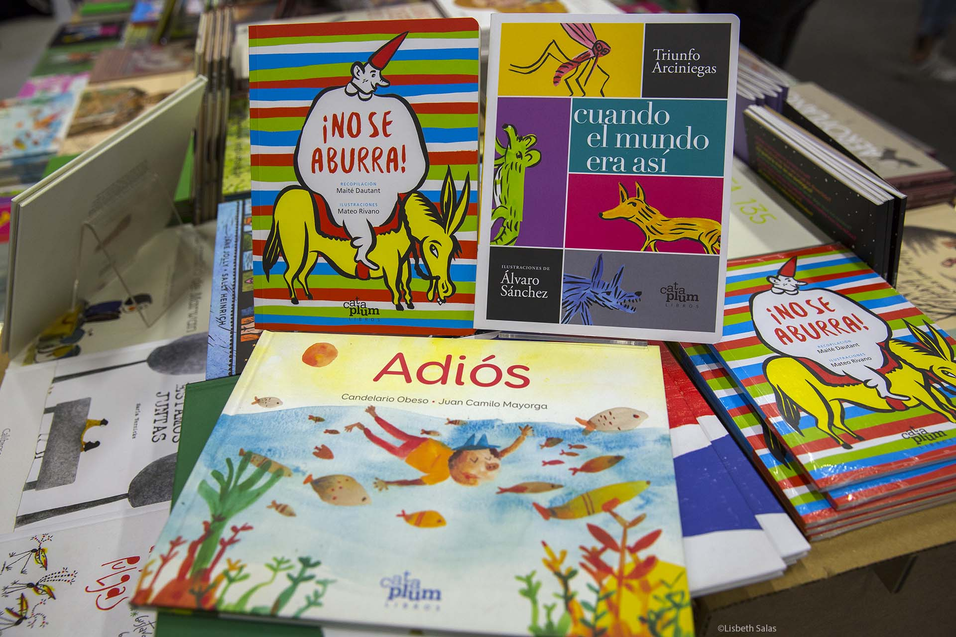 La editorial Cataplum en la FILBo 2017.