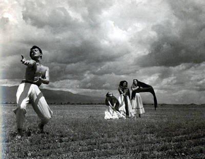 Fotografía incluida en el libro 'Tríptico para Juan Rulfo'.