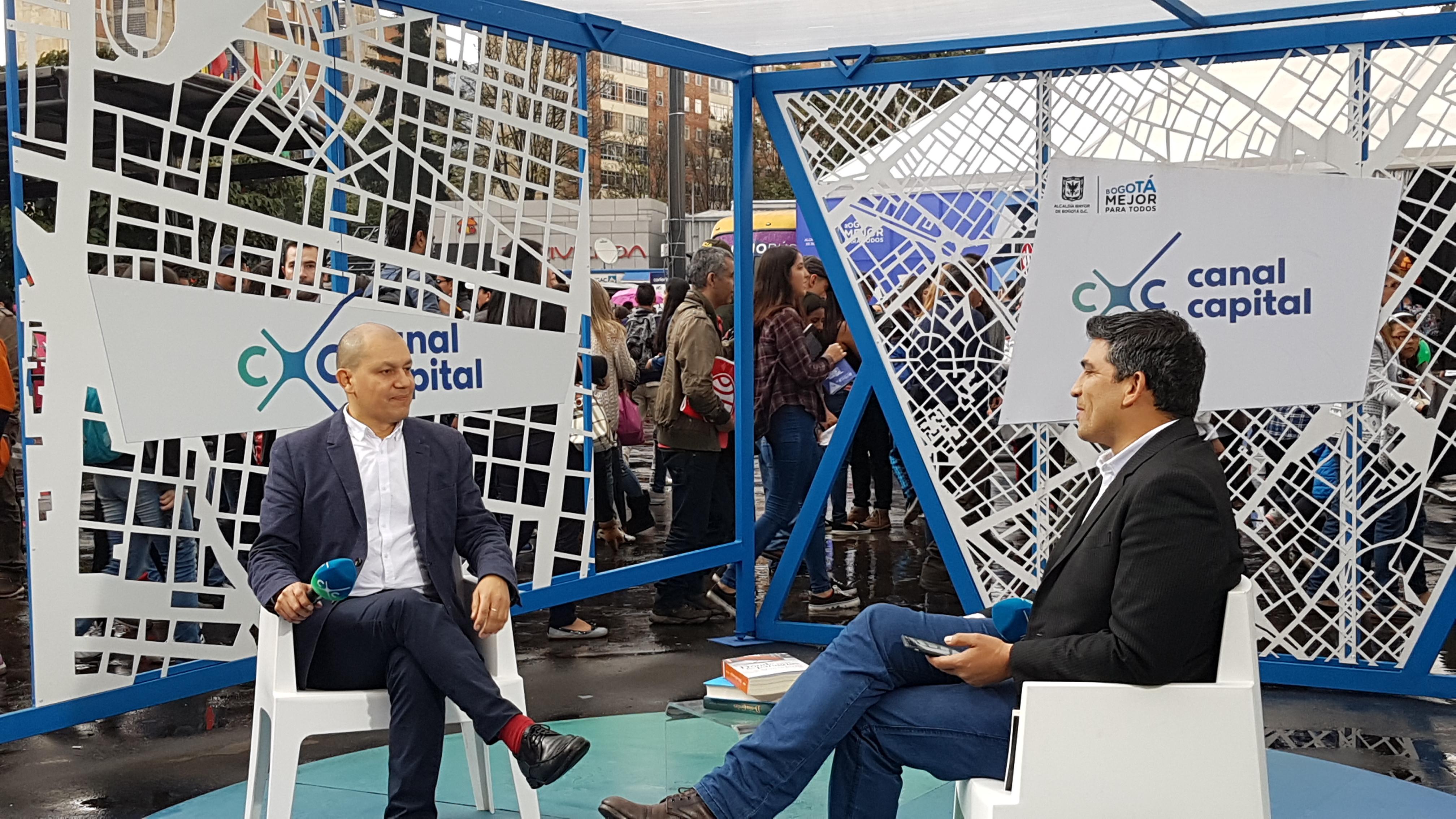 Entrevista en Canal Capital.