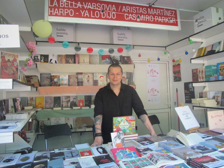 Caseta de La Bella Varsovia, Harpo Libros y Ya lo dijo Casimiro Parker en la Feria del Libro de Madrid