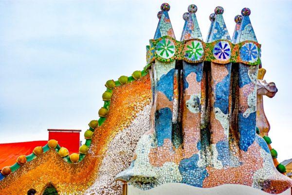 Mosaico Literario De Barcelona Creado Por 20 Autores