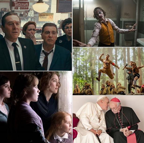 Oscar 2020 y las mejores películas basadas en libros: 'El irlandés', 'Jojo Rabbit', 'Joker', 'Los dos...