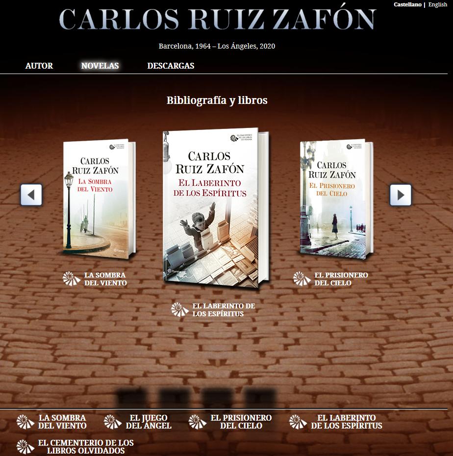 Muere Carlos Ruiz Zafón Autor De La Sombra Del Viento Uno De Los Escritores Españoles Más Vendidos En El Mundo Wmagazín